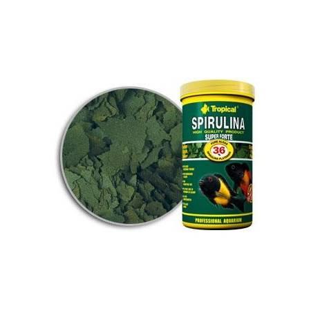 TROPICAL SUPER SPIRULINA FORTE (36%) 5L/1KG -POK.ROŚLINNY DLA RYB