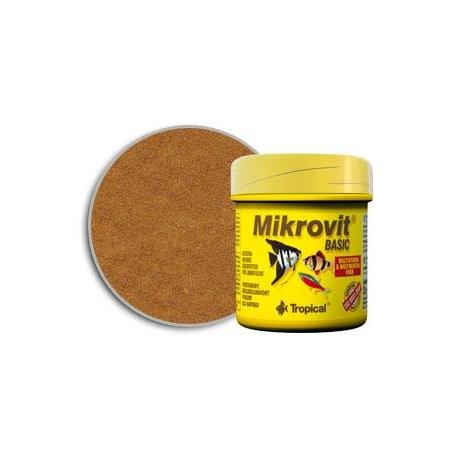 Tropical Mikro-Vit Basic 50ml - Pokarm dla narybku