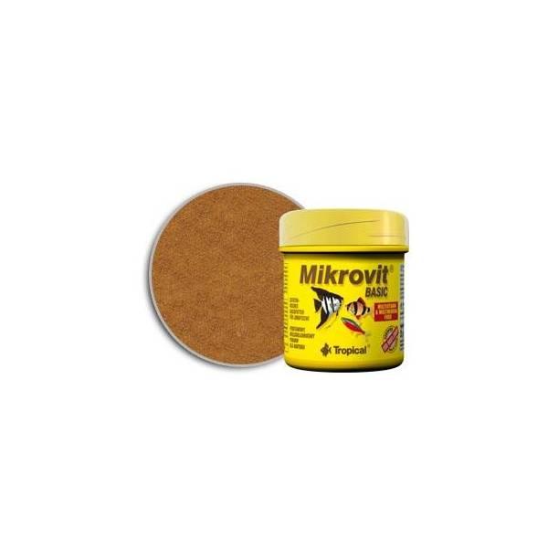 TROPICAL MIKROVIT BASIC 75ML/35G-POK.PODSTAW.DLA NARYBKU