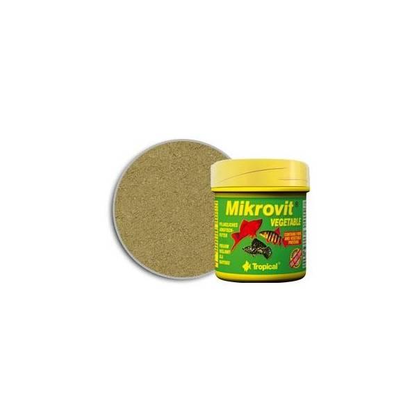 TROPICAL VEGETABLE MIKROVIT 75ML/35G-POK.ROŚLINNY DLA NARYBKU