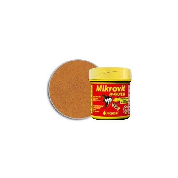 Tropical Mikro-Vit Hi-Pprotein 50ml - pokarm dla narybku Tropical - 1