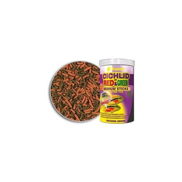 TROPICAL CICHLID RED & GREEN MEDIUM ST.1L/360G-POK.DLA PIELĘGNIC Tropical - 1