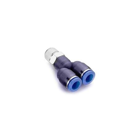 Złączka trójnik 6mm - 1/8 cala (Y)