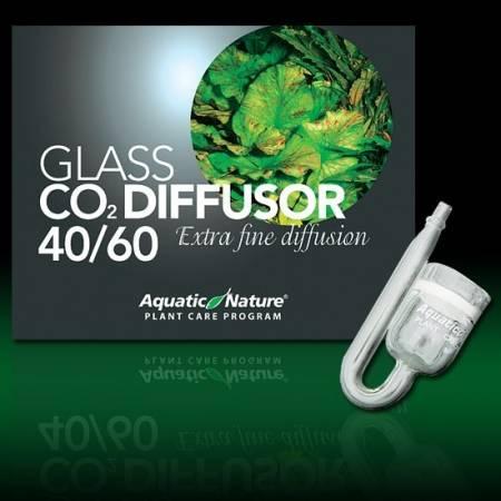 Aquatic Nature Szklany dyfuzor CO2 do akwariów 40-60L