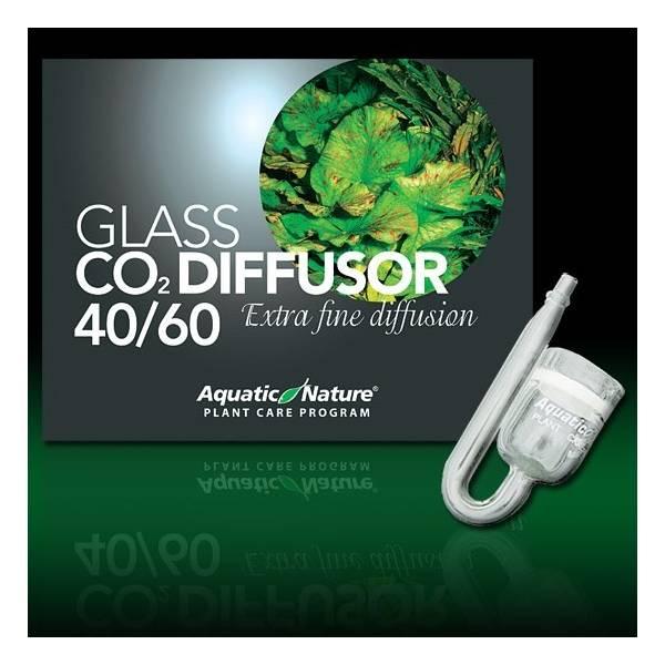 Aquatic Nature Szklany dyfuzor CO2 do akwariów 40-60L Aquatic Nature - 1