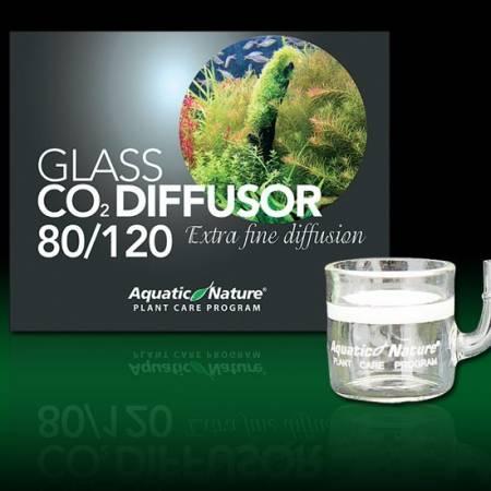 Aquatic Nature Szklany dyfuzor CO2 do akwariów 80-120L