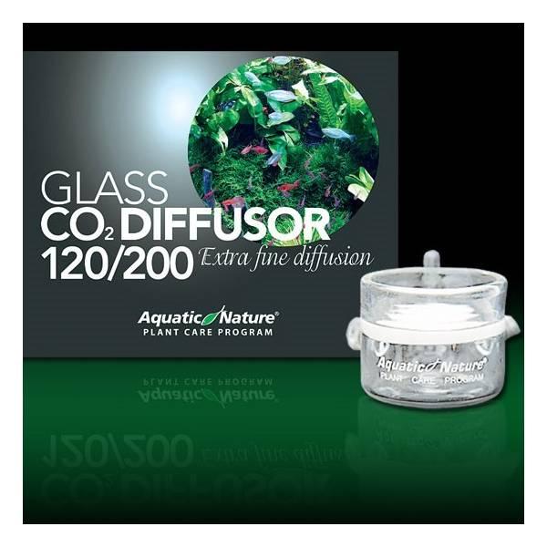 Aquatic nature Szklany dyfuzor CO2 do akwariów 120-200L