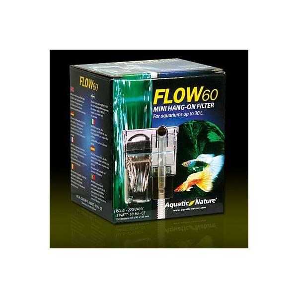 FLOW 60 Filtr Kaskadowy o wydajnosci 60L/h Aquatic Nature - 1