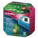 JBL CarboMec ultra Pad zestaw z wkładem gąbkowym i węglem aktywnym do CristalProfi e700/e900