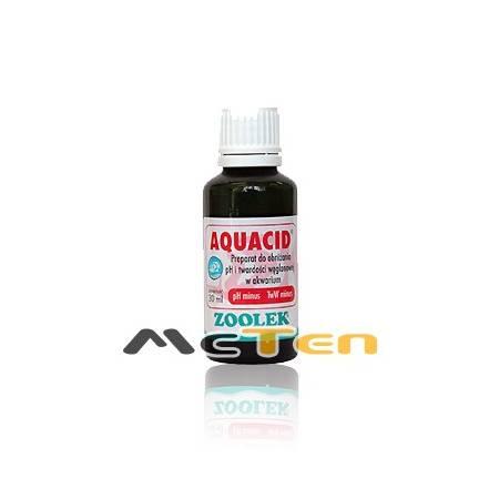 Zoolek AQUACID Preparat akwarystyczny do obniżania pH i twardści węglanowej wody 30ml