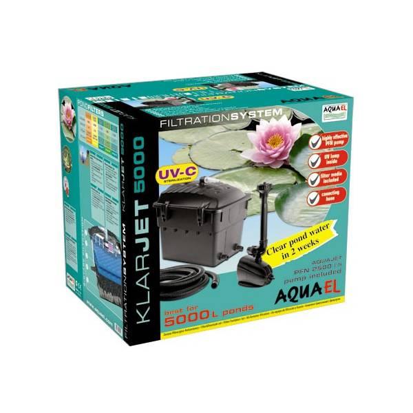 Aquael Zestaw filtrac.-fontannowy KlarJet 5000
