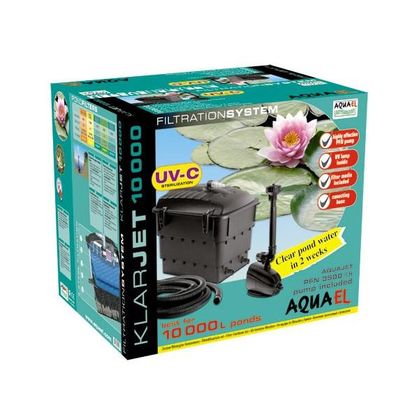 Aquael Zestaw filtrac.-fontannowy KlarJet 10000