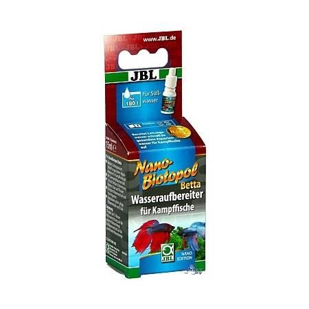 JBL Nano Biotopol Betta - Preparat do uzdatniania wody dla bojowników 15 ml