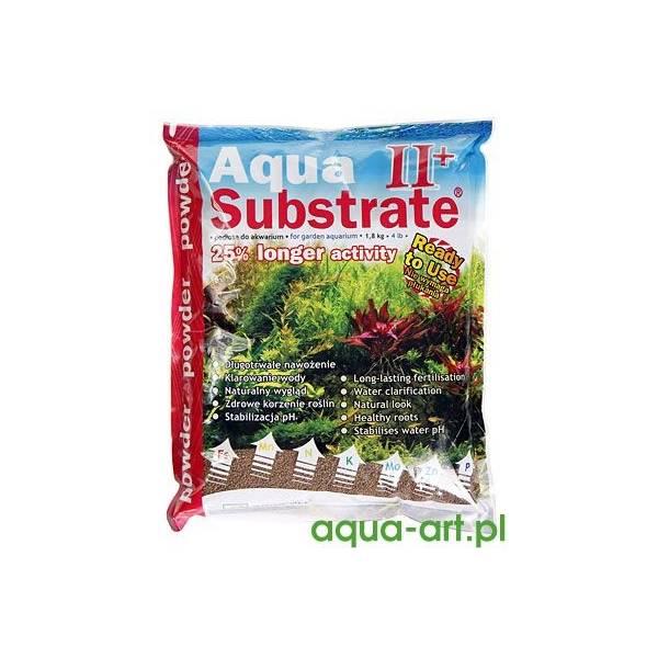 Aqua Art AquaSubstrate II+ Powder Brązowe / Brown - Podłoże dla roślin 1.8kg