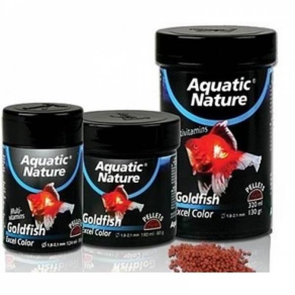 Aquatic Nature GOLDFISH EXEL COLOR S pokarm dla wszystkich ryb akwariowych124ml 50g Aquatic Nature - 1