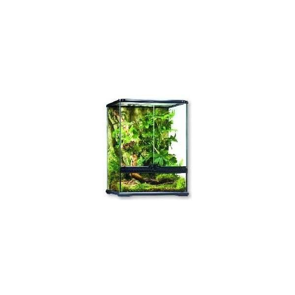 EXO TERRA terrarium szklane 90x45x60cm dla gadów i płazów - 1