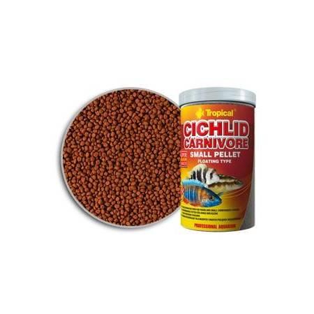 Tropical Cichlid Camivore small pellet 250/90g