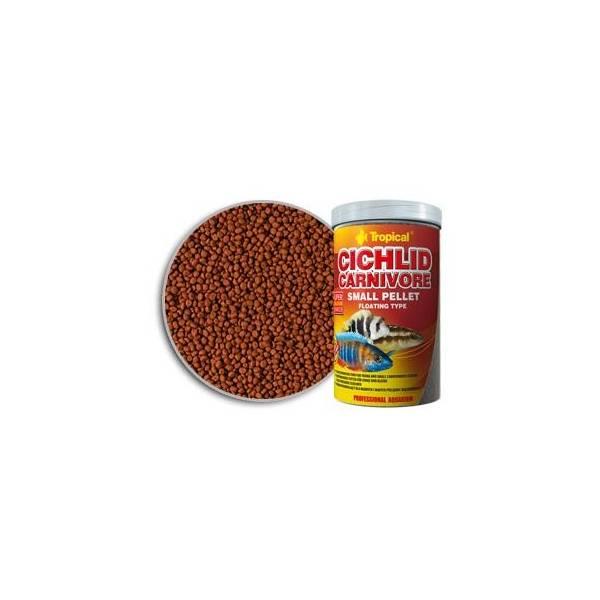 Tropical Cichlid Camivore small pellet 250/90g Tropical - 1