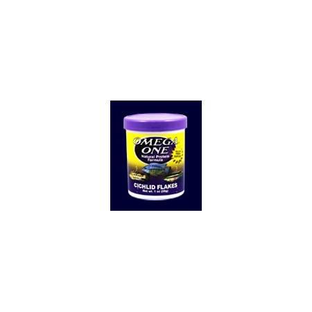 Omega One Cichlid Flakes Pokarm w płatkach dla pielęgnic 148g