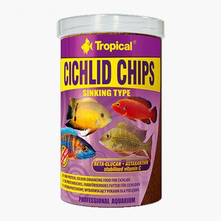 Tropical Cichlid Chips 1000ml