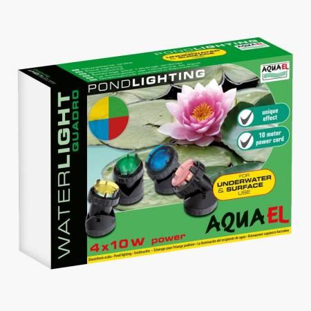 Aquael Lampa podwodna 4x10W Waterlight Quadro
