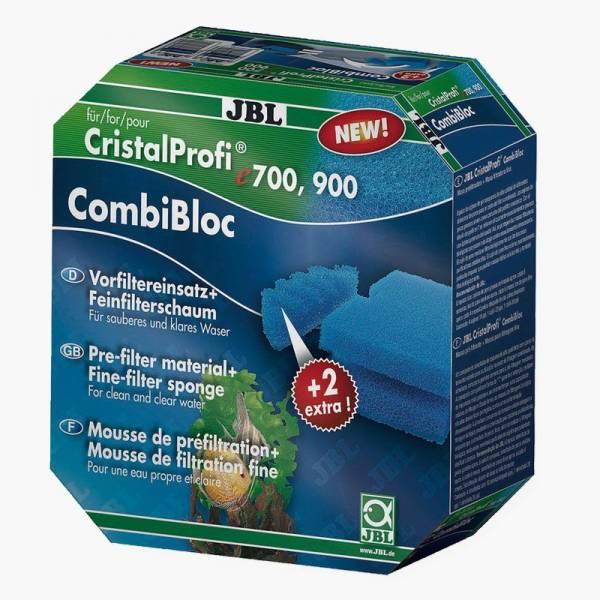 JBL CombiBloc Wkładami do przedfiltra i wkładem gąbkowym do Cristal Profi e700/e900