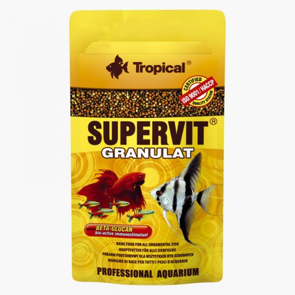Tropical Supervit 10g - POK.WYSOKOPROT.DLA RYB Tropical - 1