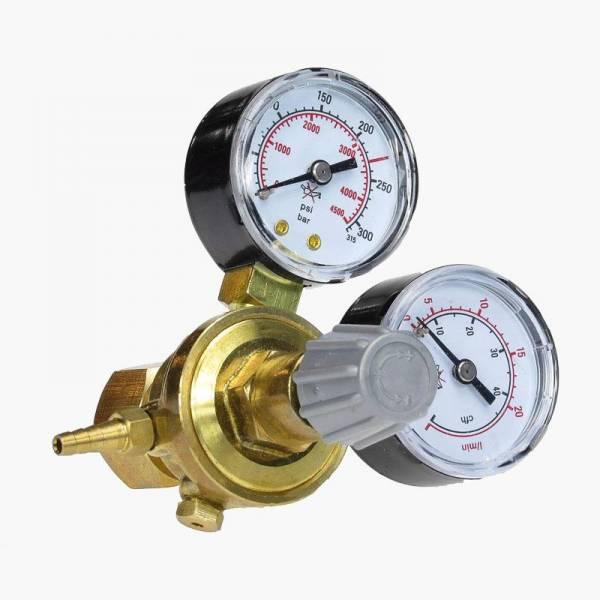 Aquario Reduktor CO2 MINI z dwoma manometrami