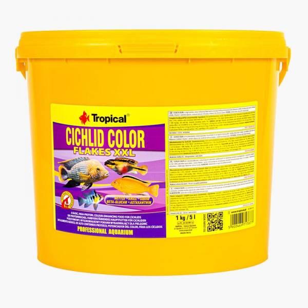 Tropical Cichlid Color XXL 5L/1kg Tropical - 1