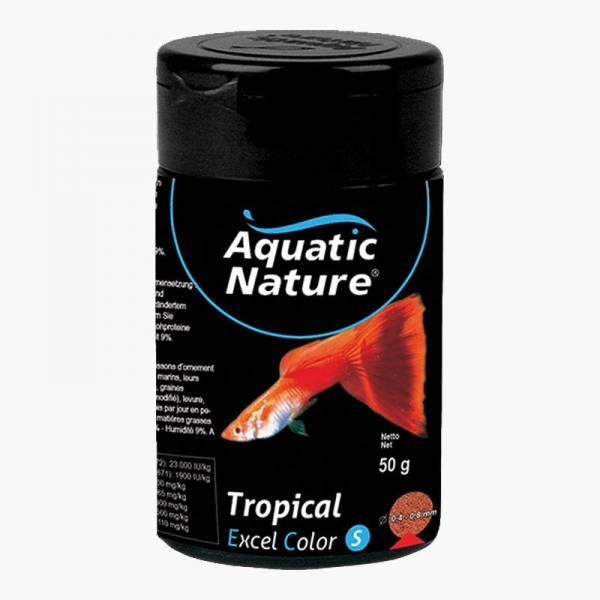 Aquatic Nature TROPICAL EXEL COLOR S pokarm dla wszystkich ryb akwariowych124ml 50g