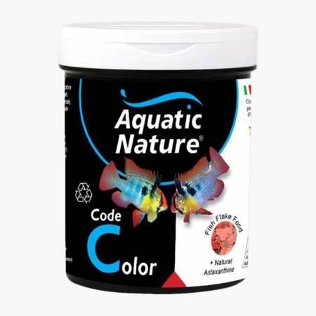 Aquatic Nature Code Color Flake Food 190ml