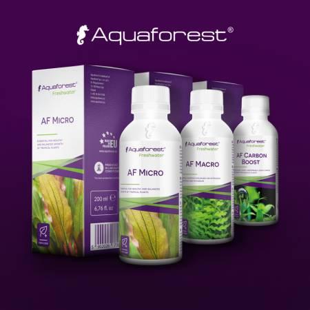 Aquaforest Zestaw Micro/Macro/Carbo 200ml
