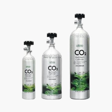 Ista Butla CO2 Aluminiowa 1L z bocznym zaworem