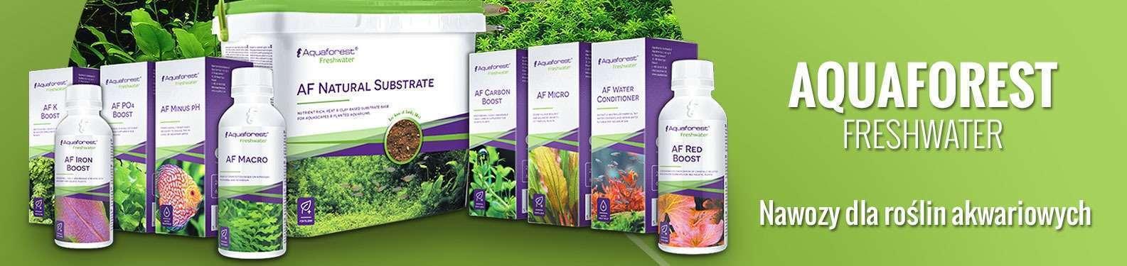 Aquaforest - Nawozy dla roślin akwariowych