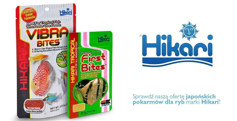 Hikari - Pokarmy dla ryb akwariowcyh