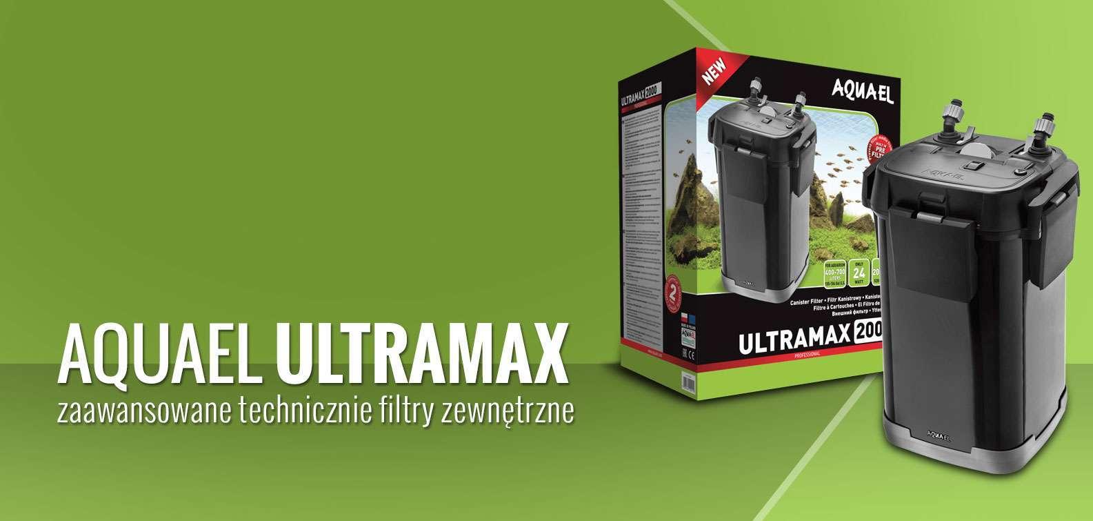 Aquael Ultramax - Zewnętrzny filtr akwariowy